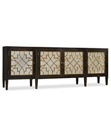 Sanctuary Four Door Mirrored Console