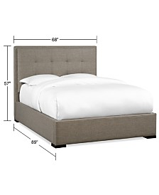 Casey Upholstered Queen Bed