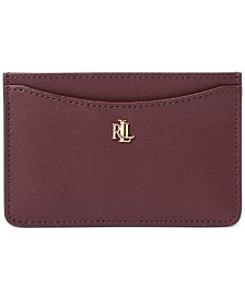 Lauren Ralph Lauren Smooth Leather Slim Card Case