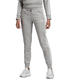 Women's Essentials Fleece 3-Stripe Joggers