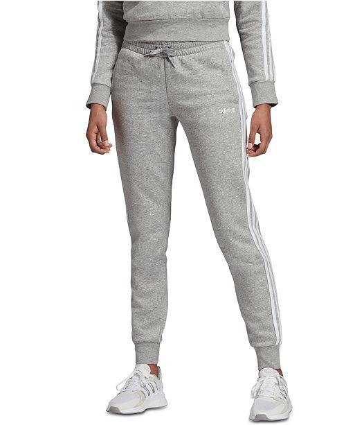 Women's Essentials Fleece 3 Stripe Joggers
