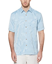 Men's Big & Tall Jacquard Tropical Shirt