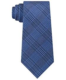 Men's Graphite Classic Plaid Tie
