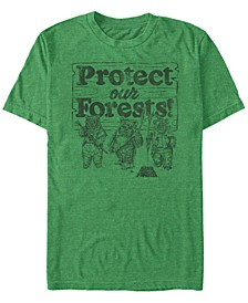 Men's Ewok Protect Our Forests Short Sleeve T-Shirt