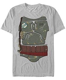 Men's Classic Boba Fett Bounty Hunter Costume Short Sleeve T-Shirt