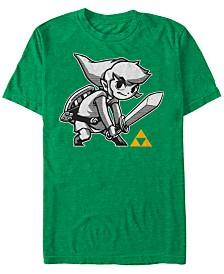 Nintendo Men's Legend of Zelda Link Sword Pose Short Sleeve T-Shirt