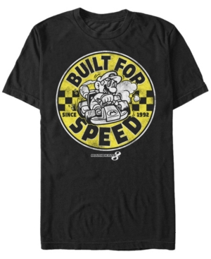 Nintendo Men's Mario Kart Built For Speed Since 1992 Short Sleeve T-Shirt
