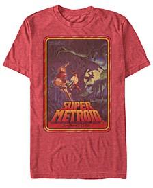 Men's Metroid Playing Card Short Sleeve T-Shirt