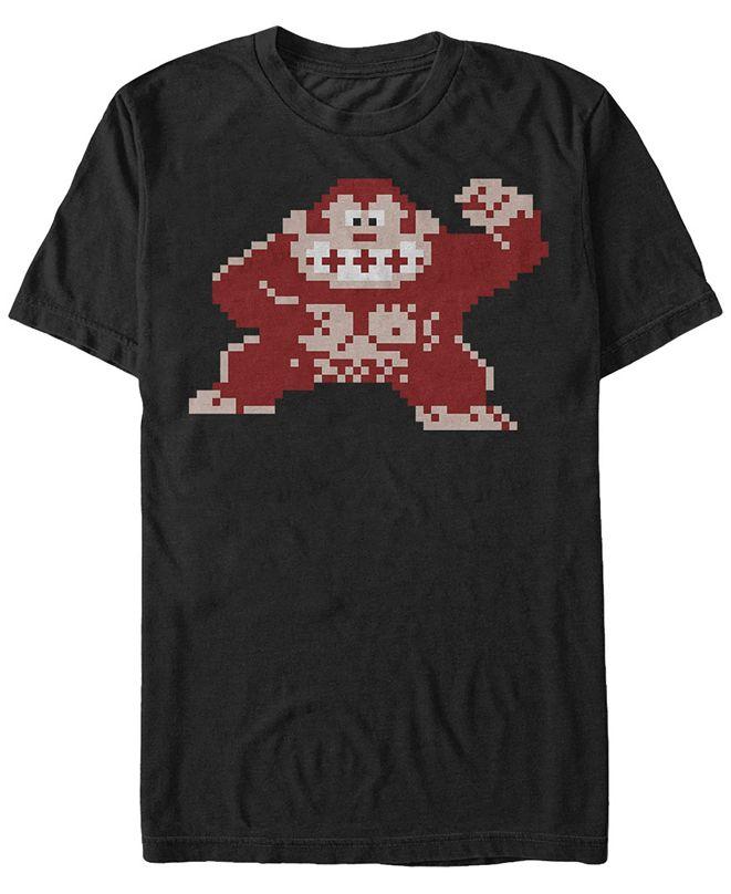 Nintendo Men's Donkey Kong Classic Pixelated Kong Short Sleeve T-Shirt