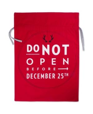 Design Imports Do Not Open Santa Bag