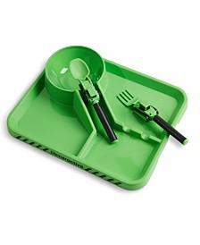Dinneractive Construction 3-Piece Meal Set