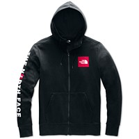 Macys deals on The North Face Mens Patch Zip Hoodie