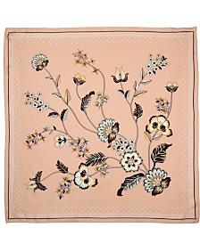 Honey Minx Eternal Bloom Nicole Richie's 100% Small Silk Scarf