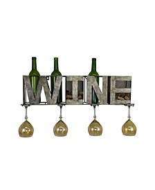 Wall Unit Wine Bottle Holder