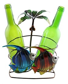 Palm Tree and Fish Wine Bottle Holder