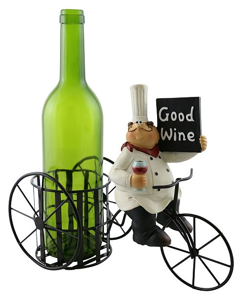 Wine Bodies Old Chef with Sign Wine Bottle Holder