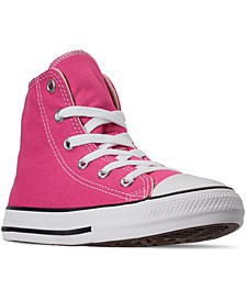 Little Girls Chuck Taylor High Top Galaxy Dust Print Casual Sneakers from Finish Line