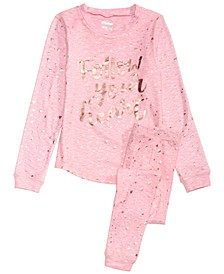 Big Girls 2-Pc. Follow Your Heart Pajama Set