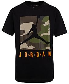 Jordan Toddler Boys Camo-Print Cotton T-Shirt