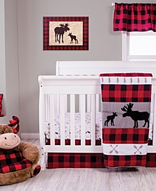 Lumberjack Moose Nursery Collection