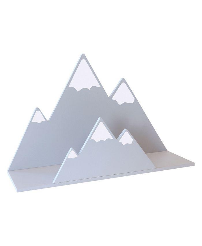 Trend Lab - Gray Mountain Wall Shelf