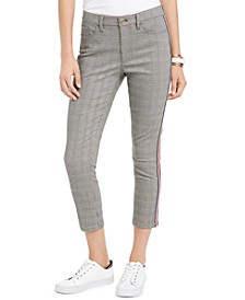 Tribeca Plaid Knit Pants, Created for Macy's