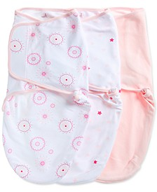 Baby Girls 3-Pk. Summer Solstice Cotton Wrap Swaddles
