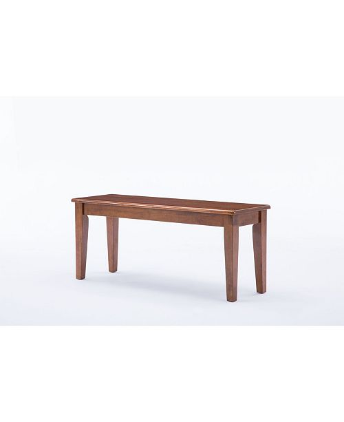 Prime Shaker Collection Dining Bench Pabps2019 Chair Design Images Pabps2019Com