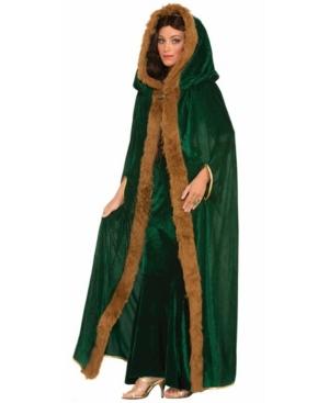 Women's Faux Fur Trimmed Cape
