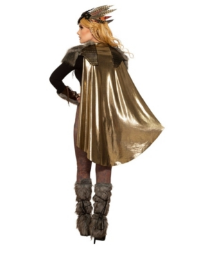 Women's Viking Valkyrie Cape and Shoulder Pads