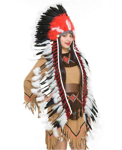 BuySeasons Women's Headdress Costume