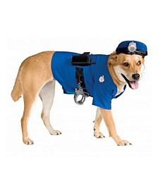 Big Dog's Police Dog Pet Costume