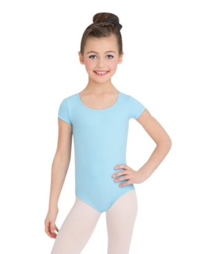 Capezio Little and Big Girls Short Sleeve Leotard