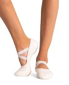 Capezio Little Girls Hanami Leather Ballet Shoe