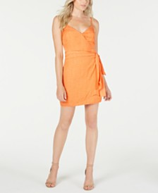 GUESS Nadia Printed Faux-Wrap Dress