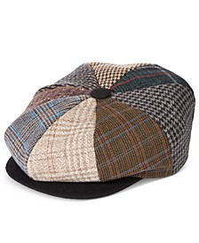 Men's Printed Newsboy Cap