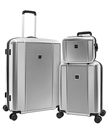 Spectrum 3-Piece Hardside Luggage Set, Created for Macy's