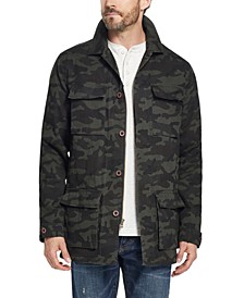 Men's Fleece Lined Camo Jacket, Created for Macy's