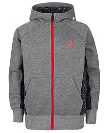 Jordan Big Boys Colorblocked Mid Weight Hoodie, Created For Macy's