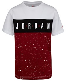 Jordan Big Boys Cotton Colorblocked T-Shirt