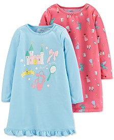 Carter's Toddler Girls 2-Pk. Fairytale Nightgowns Set