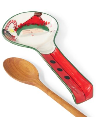 Old St. Nick Spoon Rest, Created for Macy's