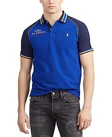 Polo Ralph Lauren Men's Basic Mesh Tipped Knit Polo Shirt