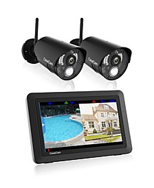 Video Home Surveillance Kit With Night Vision