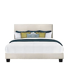 Royale Upholstered King Bed