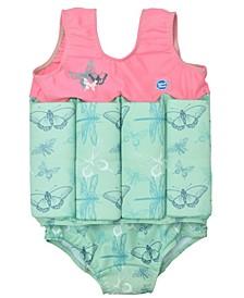 Toddler Girl's Floatsuit