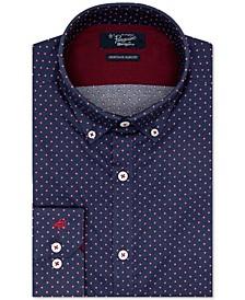 Men's Heritage Slim-Fit Performance Stretch Dobby Dress Shirt