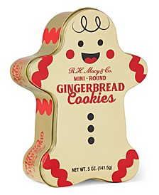 Holiday  Gingerbread Cookie Tin, Created for Macy's
