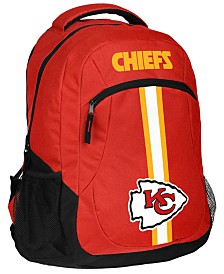 Forever Collectibles Kansas City Chiefs Action Backpack