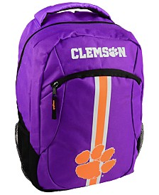 Forever Collectibles Clemson Tigers Action Backpack